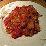 recette côtes de blettes  tomate champignons