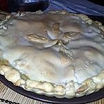 recette Chicken pie tourte au poulet américaine