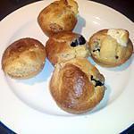 recette Muffins tomates séchées, olives noires & feta