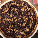 recette tarte au chocolat bounty