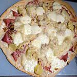 recette Pizza campagnarde
