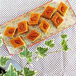recette Namouras libanais à la fleur d'oranger
