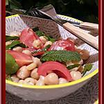 recette Salade de pois chiches Libanaise