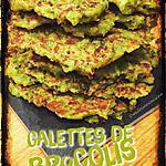 recette GALETTES DE BROCOLI AU PARMESAN