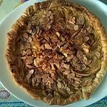recette Tarte aux pommes amandine