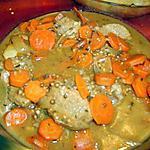 recette Veau aux carottes