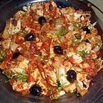 recette Morue provençale