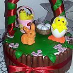 recette Gâteau panier de pâques