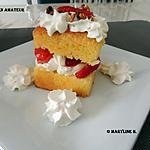 recette Petits gâteaux aux fraises