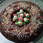 recette Nid de Pâques chocolat & café