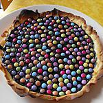 recette TARTE CHOCOLATEE AUX SMARTIES