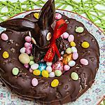 recette Couronne de Pâques au chocolat