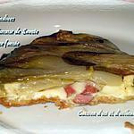recette Tatin d'endives à la tomme de Savoie