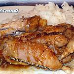 recette Poulet massalé