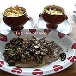 recette Escalope de veau Forestière