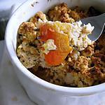 recette Crumble de tomates au thon