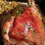 recette Cuissot de cochon de lait rôti