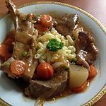 recette Cocotte d'agneau aux petits légumes.