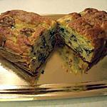 recette cake poire noix roquefort