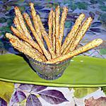 recette Gressins à l'aneth,citron et parmesan