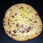 recette cookies aux pépites de chocolats et aux éclats de pistaches