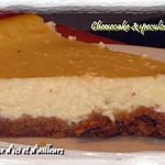 recette Cheesecake & spéculos