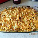 recette Gratin de pâtes et poireaux