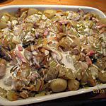recette gratin endives pommes de terre champignons