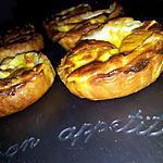 recette Tartelettes carottes-mozzarella