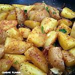 recette Pommes de terre rissolées aux épices