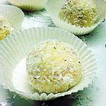 recette Ladoo à la noix de coco