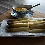 recette Asperges de Julien sauce Angelik