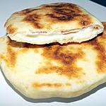 recette Naans jambon/mozzarella