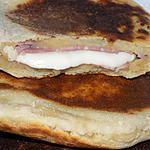 recette Naans jambon/fromage dukan