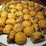 recette mignardises salés sans gluten