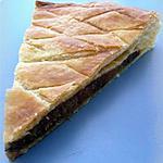 recette Galette des rois aux pommes parfumée au pain d'épices