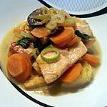 recette Blanquette de poissons safranée