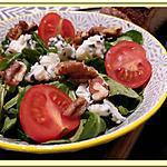 recette Salade de Mâche aux noix et Roquefort