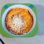 recette Purée de patate douce,carotte et parmesan au Companion