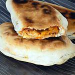 recette Naans poulet/poivrons/fromage dukan