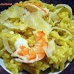 recette Riz aux calamars façon risotto