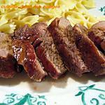 recette Magrets de canard au sirop de liege