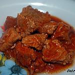 recette Boeuf à la tomate