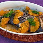 recette Daurade au four à l'orange et au fenouil