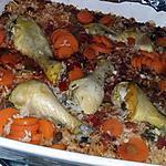 recette Riz cuit au four