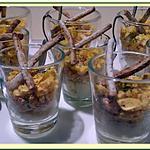 recette Verrines oeufs mimosa au saumon