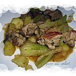 recette porc au céleri