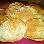 recette Pancakes aux noisettes caramelisees