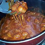 recette Sauce tomate-mozzarella au knackis