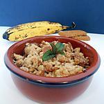 recette CRUMBLE BANANE & SPÉCULOOS